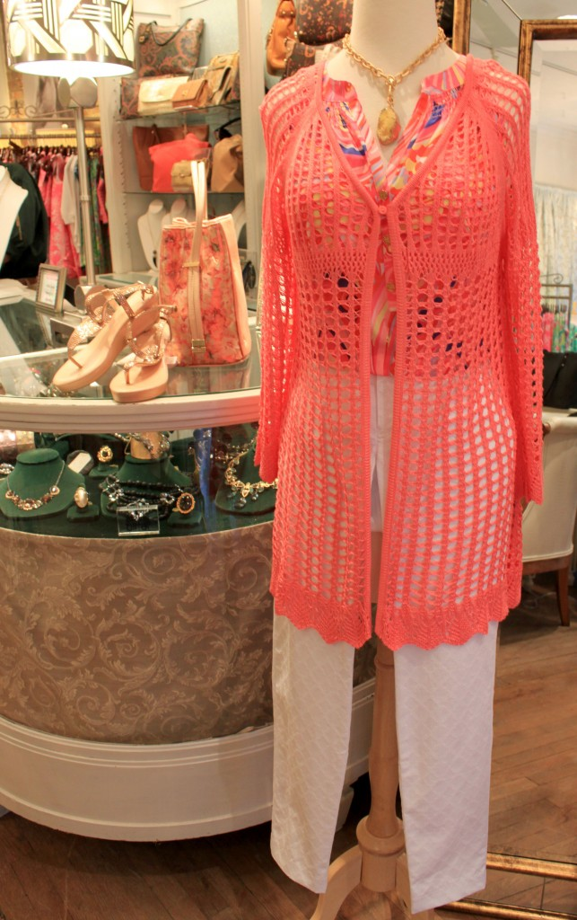 Spring lilly pulitzer with knit top